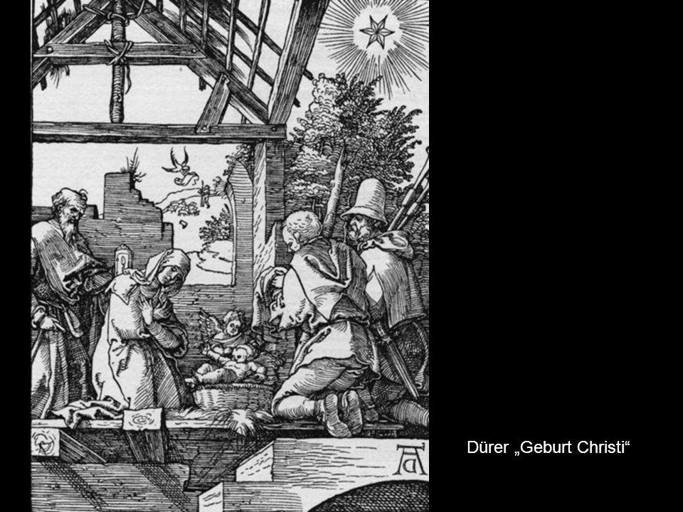 "Dürer ""Geburt Christi"