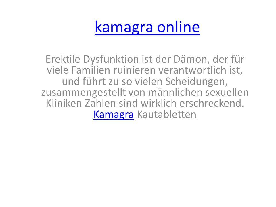 kamagra online Erektile Dysfunktion ist der Dämon, der für viele Familien ruinieren verantwortlich ist, und führt zu so vielen Scheidungen, zusammengestellt von männlichen sexuellen Kliniken Zahlen sind wirklich erschreckend.