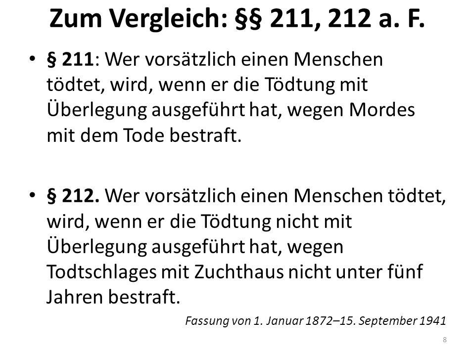 §§ 214, 215 StGB a.F. § 214.