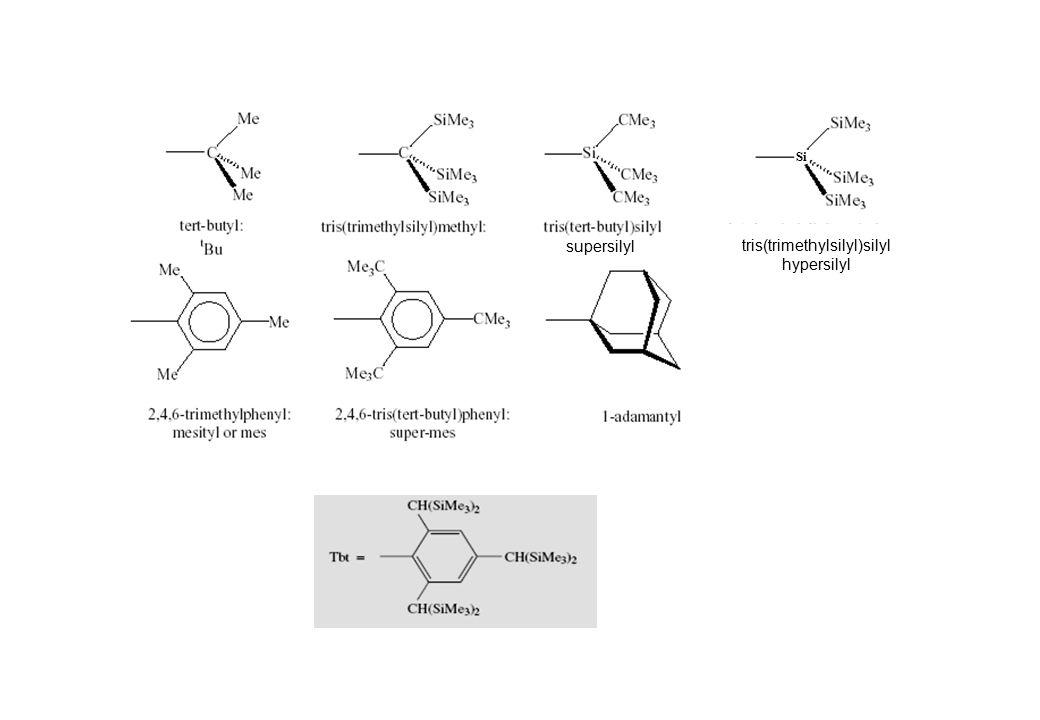 supersilyl Si tris(trimethylsilyl)silyl hypersilyl