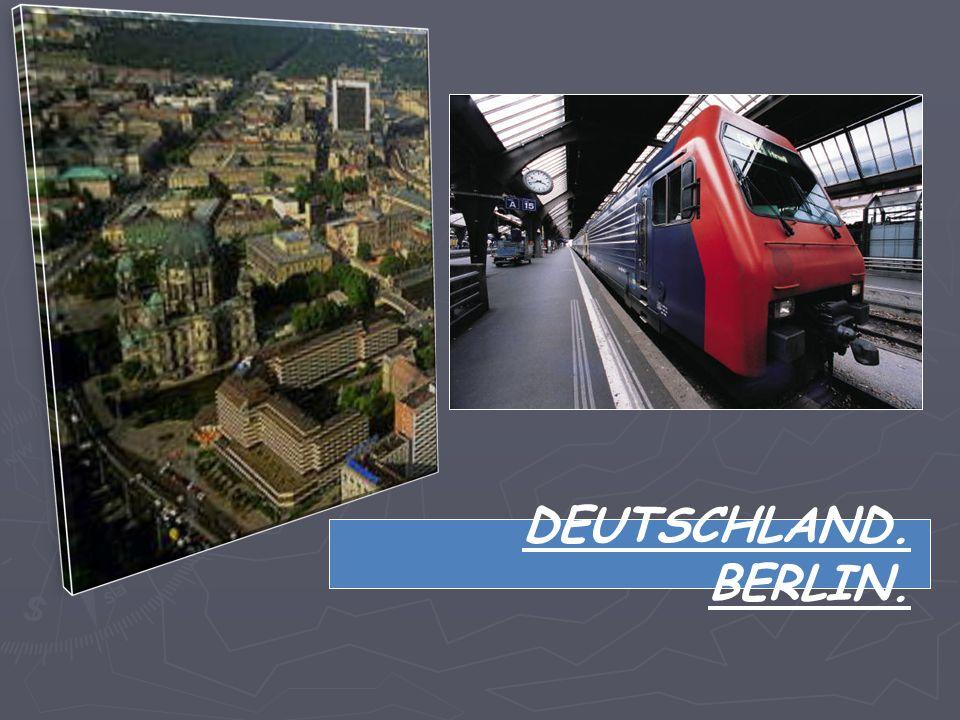 DIE BUNDESREPUBLIK DEUTSCHLAND.BERLIN. Die Hauptstadt der Bundesrepublik Deutschland ist BERLIN.