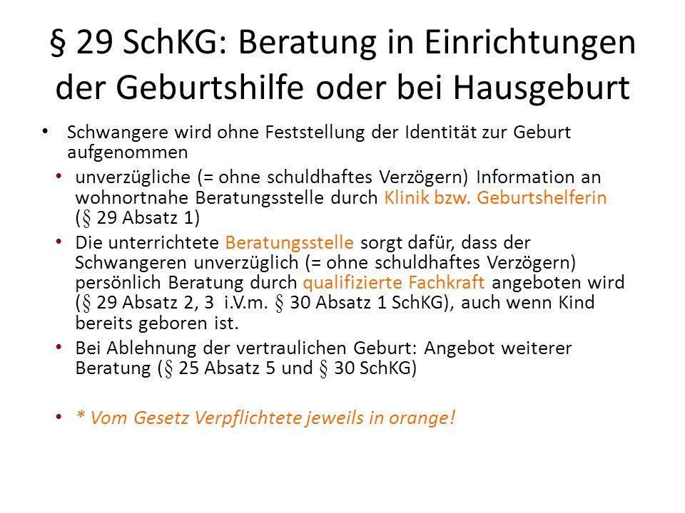 § 31 SchKG: Einsichtsrecht des Kindes in den Herkunftsnachweis Kind: mit Vollendung des 16.