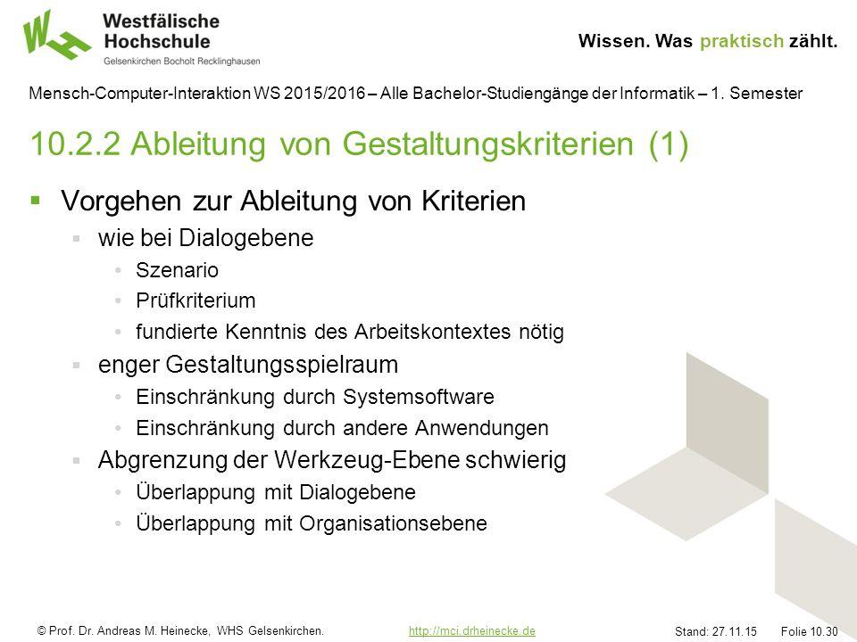 © Prof. Dr. Andreas M. Heinecke, WHS Gelsenkirchen.