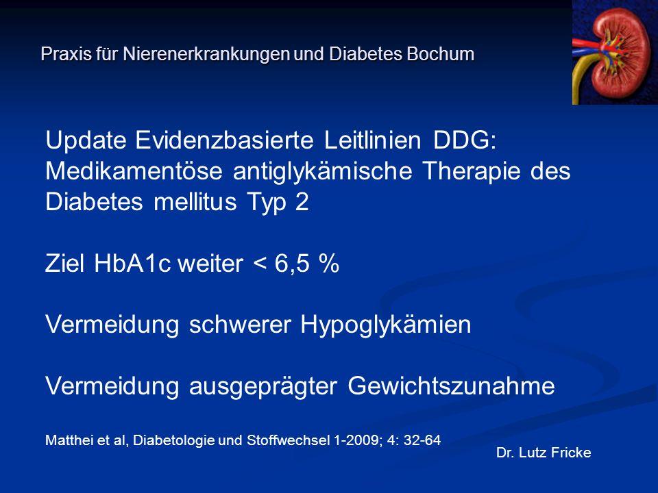 Praxis für Nierenerkrankungen und Diabetes Bochum Dr.