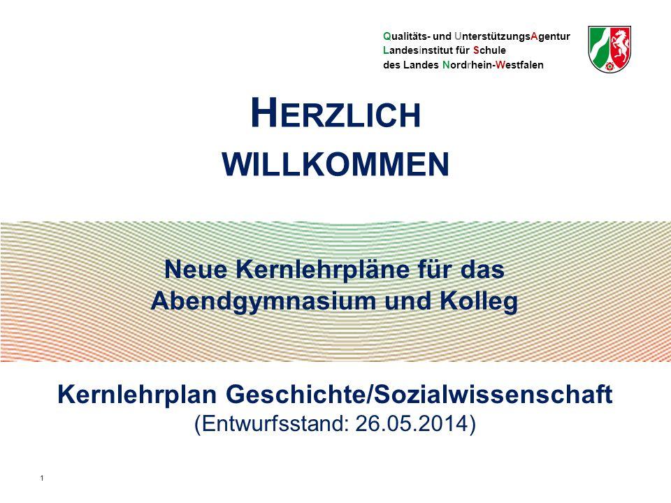 Qualitäts- und UnterstützungsAgentur Landesinstitut für Schule des Landes Nordrhein-Westfalen Rechtliche Grundlagen II SchulG § 70 Abs.