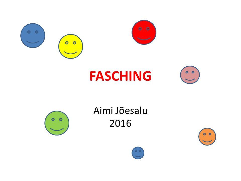 FASCHING Aimi Jõesalu 2016