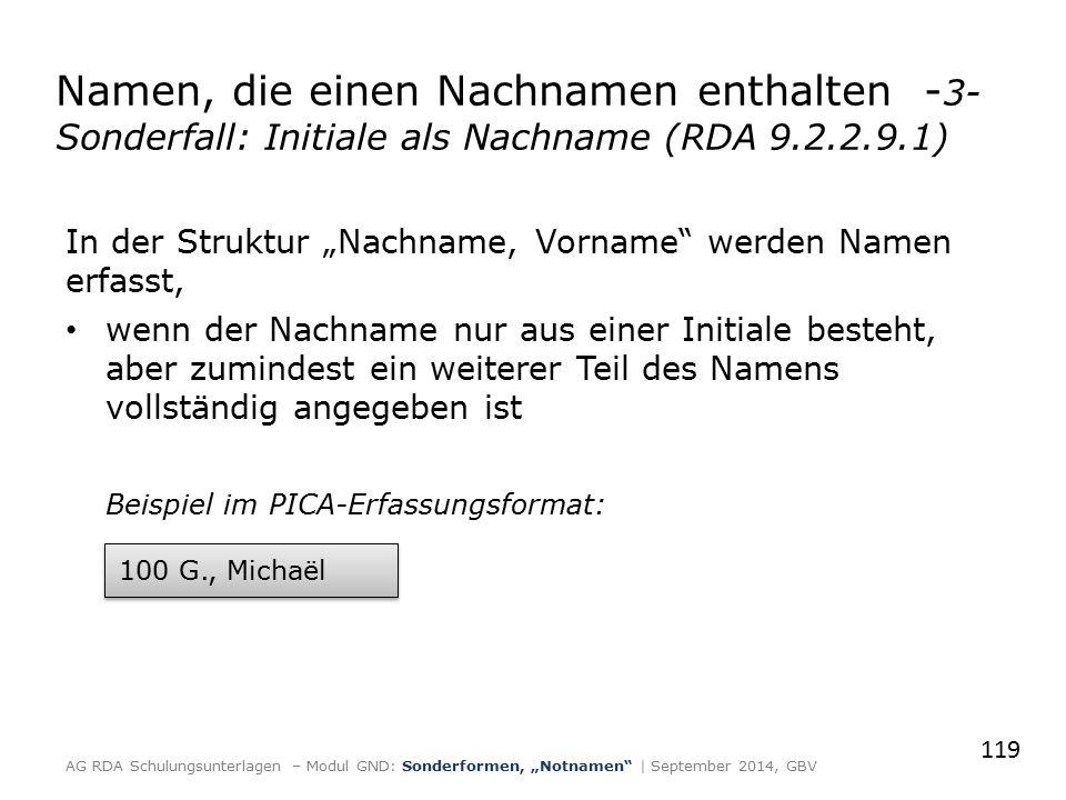 """In der Struktur """"Nachname, Vorname"""" werden Namen erfasst, wenn der Nachname nur aus einer Initiale besteht, aber zumindest ein weiterer Teil des Namen"""