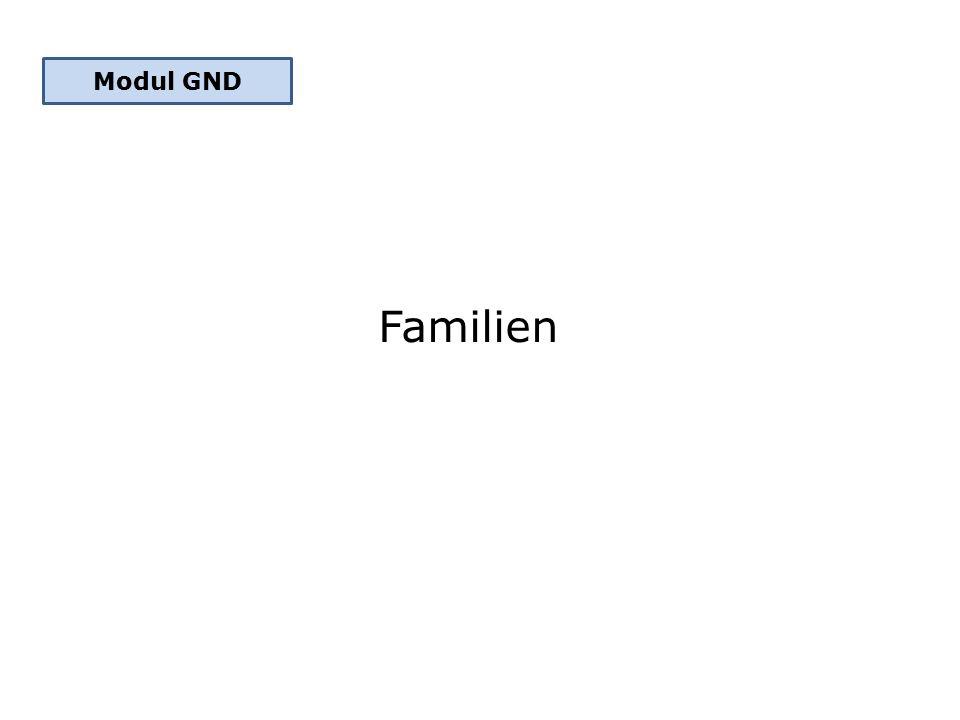 Familien Modul GND