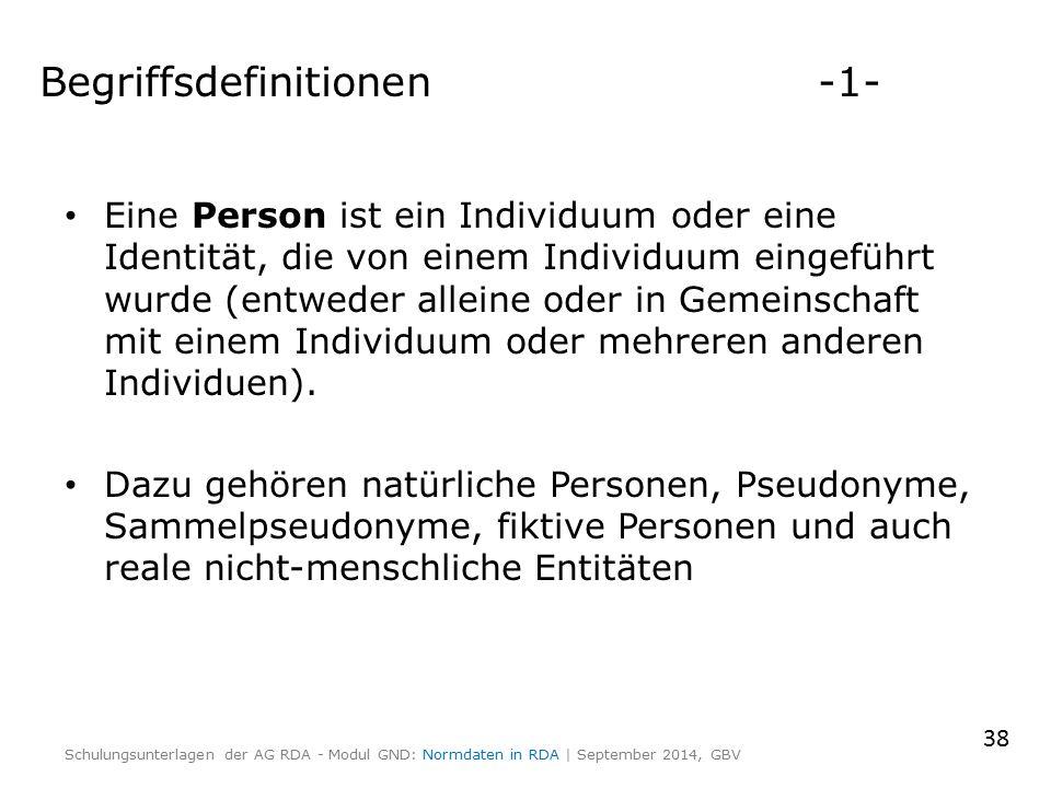 Eine Person ist ein Individuum oder eine Identität, die von einem Individuum eingeführt wurde (entweder alleine oder in Gemeinschaft mit einem Individuum oder mehreren anderen Individuen).