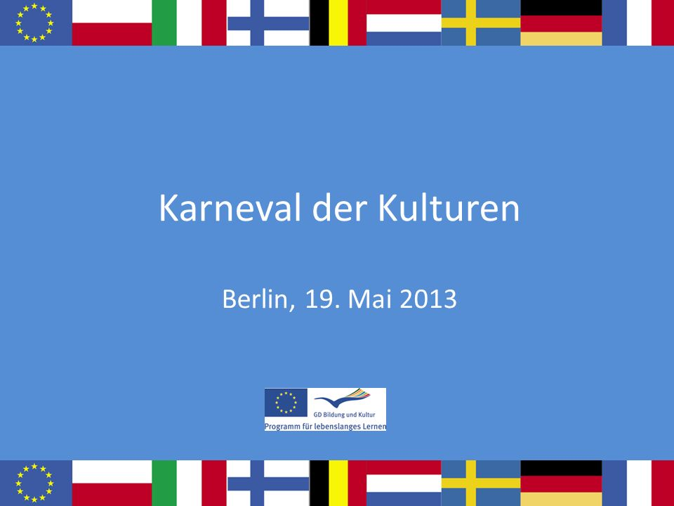 Karneval der Kulturen Berlin, 19. Mai 2013