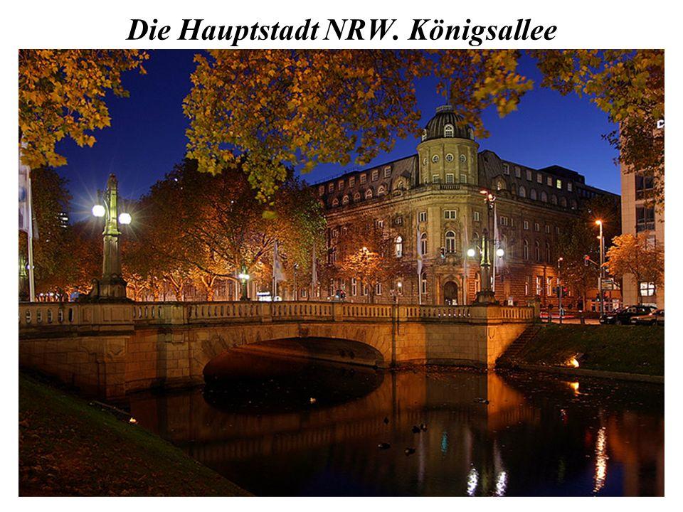 Die Hauptstadt NRW. Königsallee