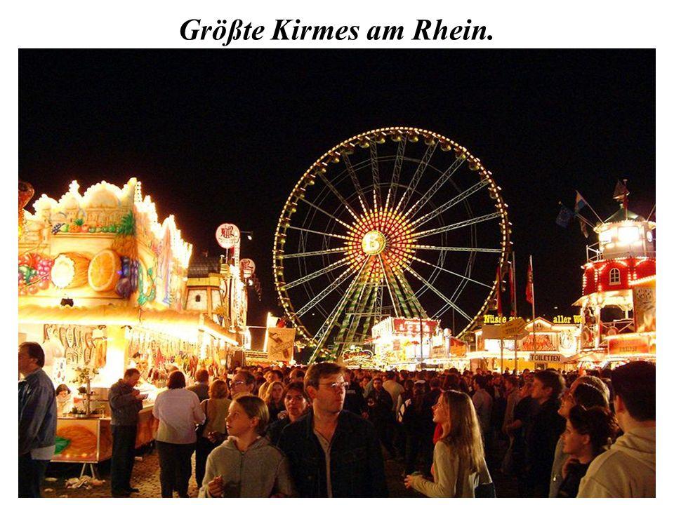 Größte Kirmes am Rhein.
