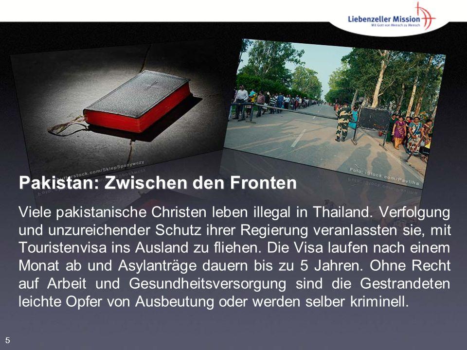 Pakistan: Zwischen den Fronten Viele pakistanische Christen leben illegal in Thailand.