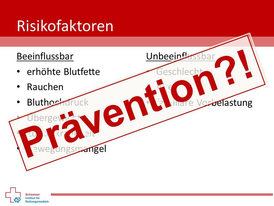 Defibrillation In der Schweiz sterben pro Jahr rund 8'000 Menschen den plötzlichen Herztod Ist die einzige Massnahme zur Beendigung des sog.