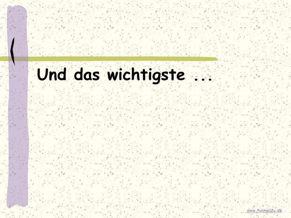 www.funmail2u.de Und das wichtigste...