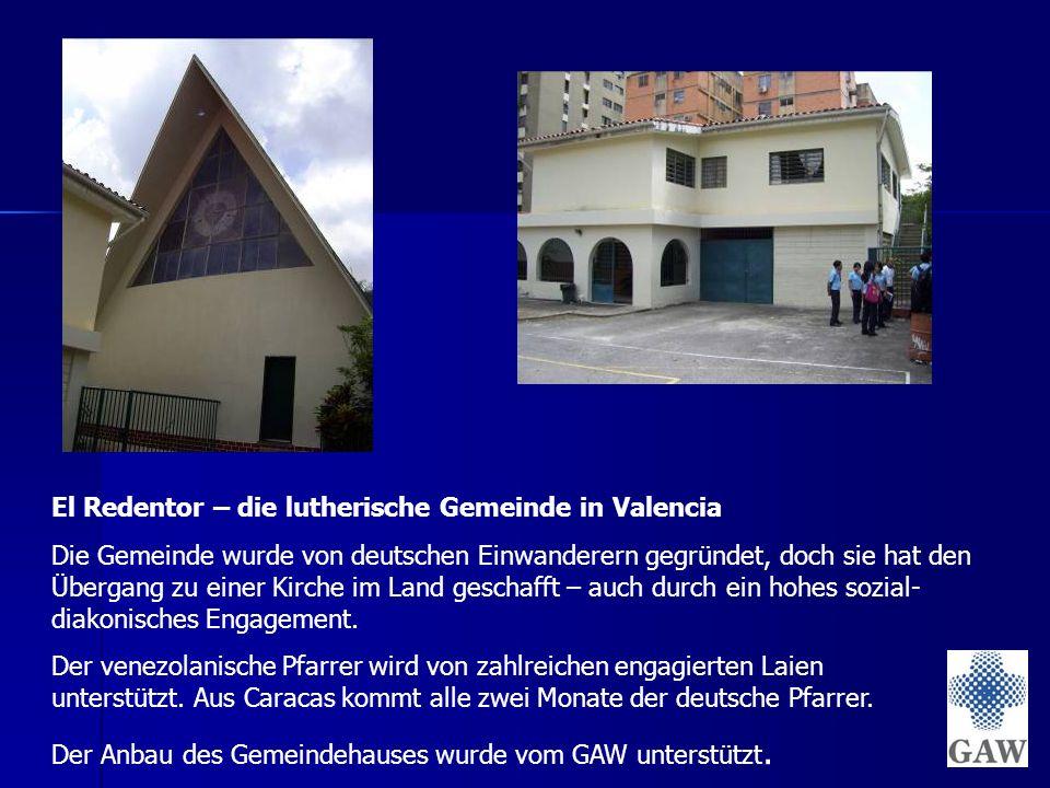 El Redentor – die lutherische Gemeinde in Valencia Die Gemeinde wurde von deutschen Einwanderern gegründet, doch sie hat den Übergang zu einer Kirche im Land geschafft – auch durch ein hohes sozial- diakonisches Engagement.