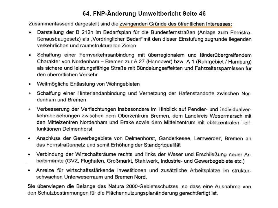 FFH- Schutzgebiete  Fachliche Kritik (1)Es liegen keine belegbaren Nachweise für die völlige Entwertung der Rastgebiete im Norden vor.