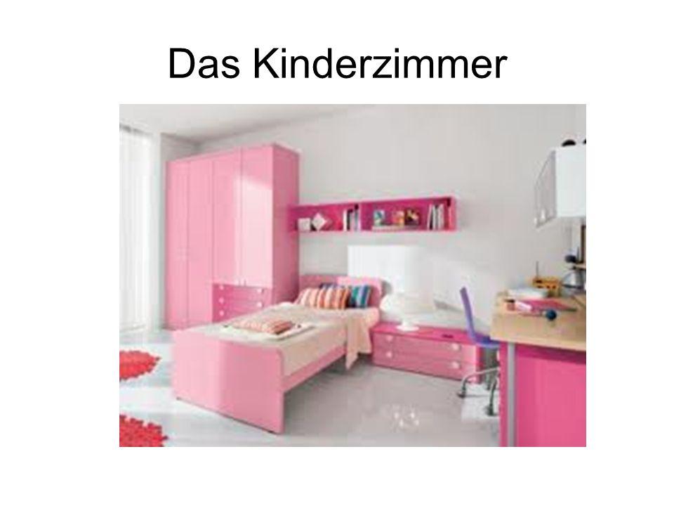 Im Wohnzimmer ist ein ……………..Im Kinderzimmer ist ………………..
