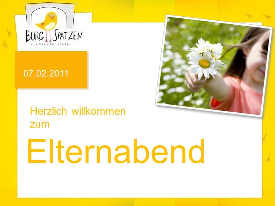 Herzlich willkommen zum Elternabend 07.02.2011