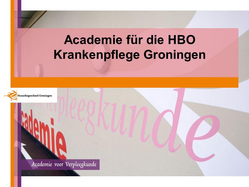 1 Academie für die HBO Krankenpflege Groningen