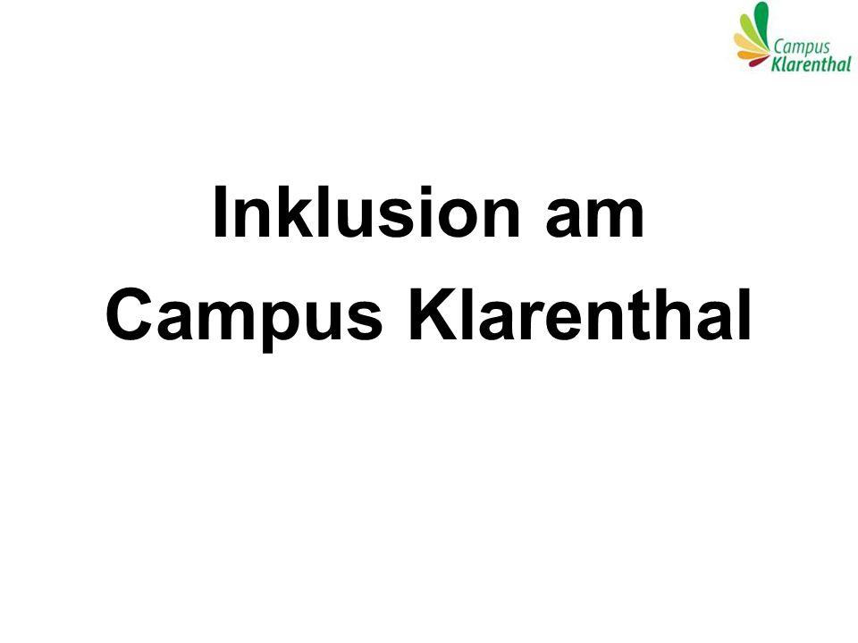 Inklusion am Campus Klarenthal