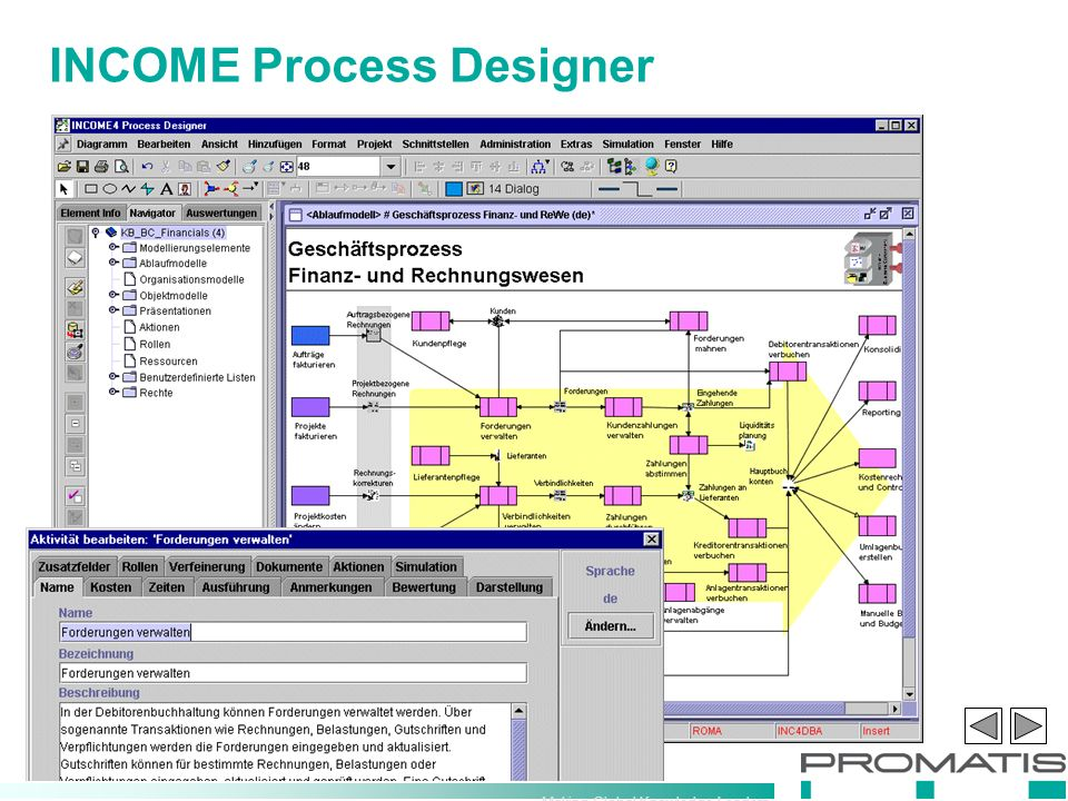 Making Global Knowledge Leaders INCOME Process Designer