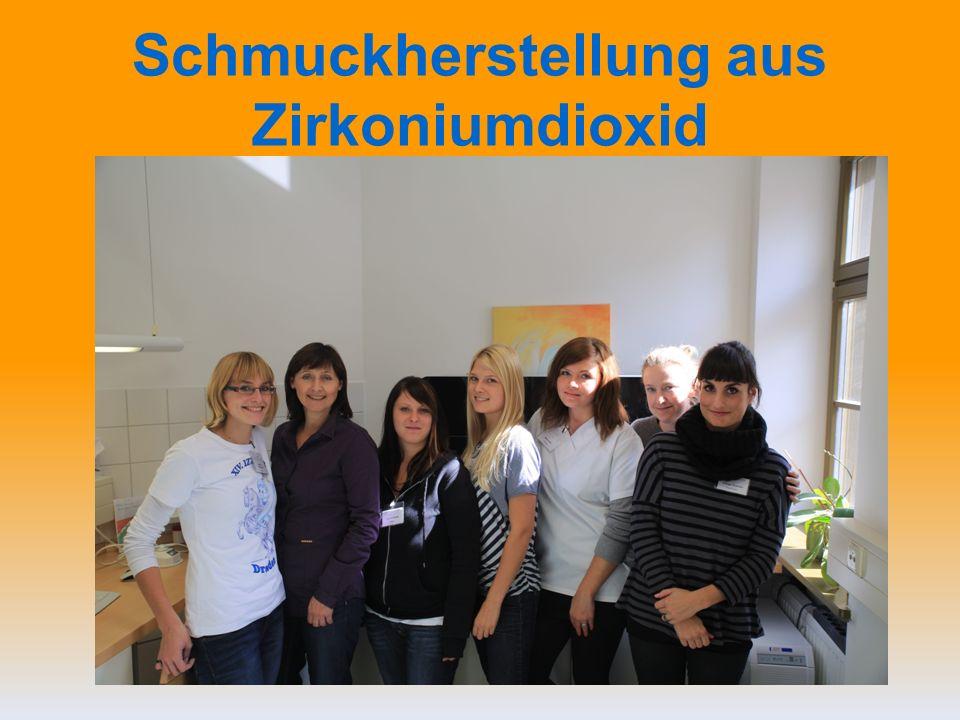 Schmuckherstellung aus Zirkoniumdioxid
