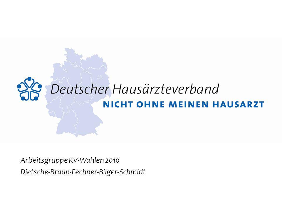 Arbeitsgruppe KV-Wahlen 2010 Dietsche-Braun-Fechner-Bilger-Schmidt