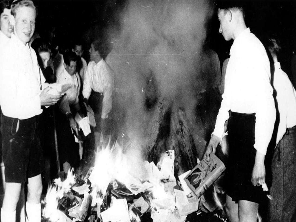 Die Bücherverbrennung vom 10.Mai bis zum 21. Juni 1933 Wann.