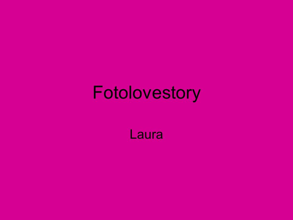 Fotolovestory Laura