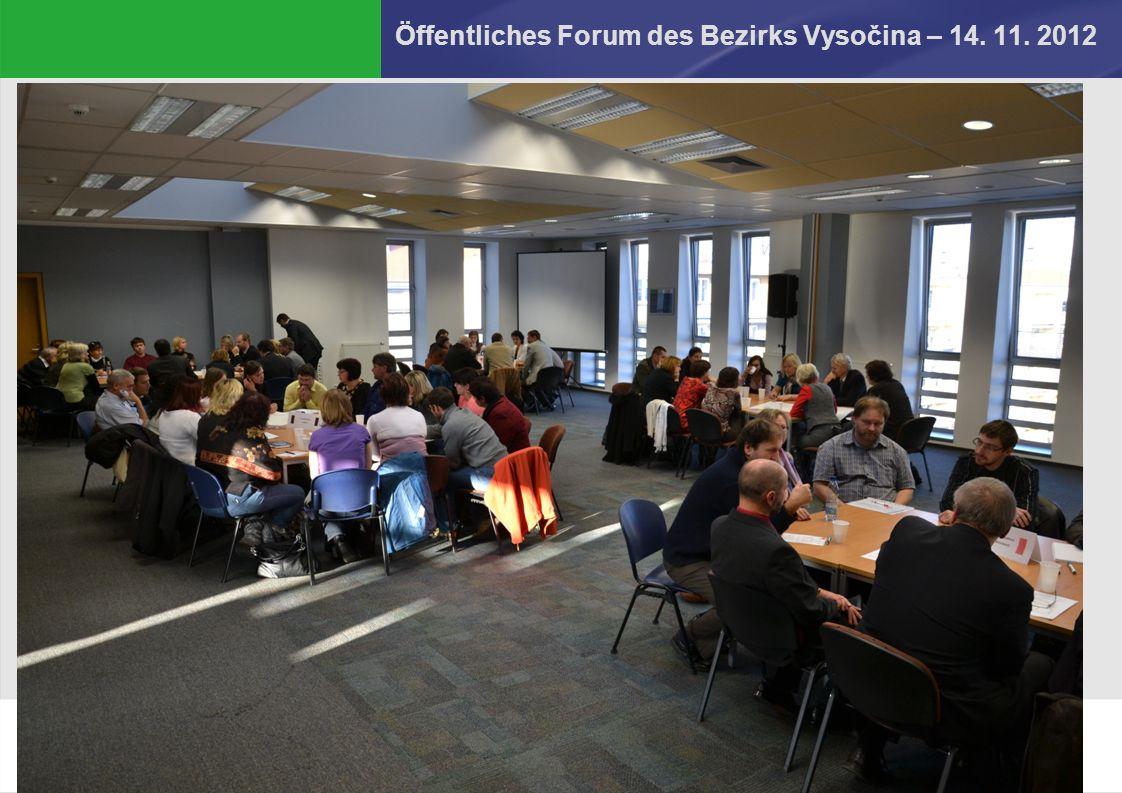Dana Kratochvílová Öffentliches Forum des Bezirks Vysočina – 14. 11. 2012 2.6.2016