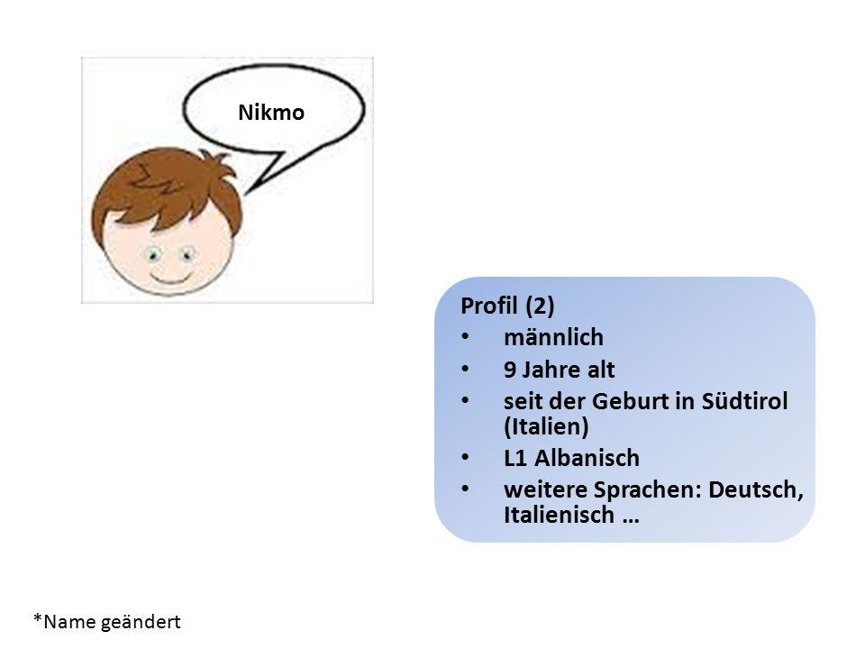Lernerprofile – deutsch Profil 2 [Version 1.2]