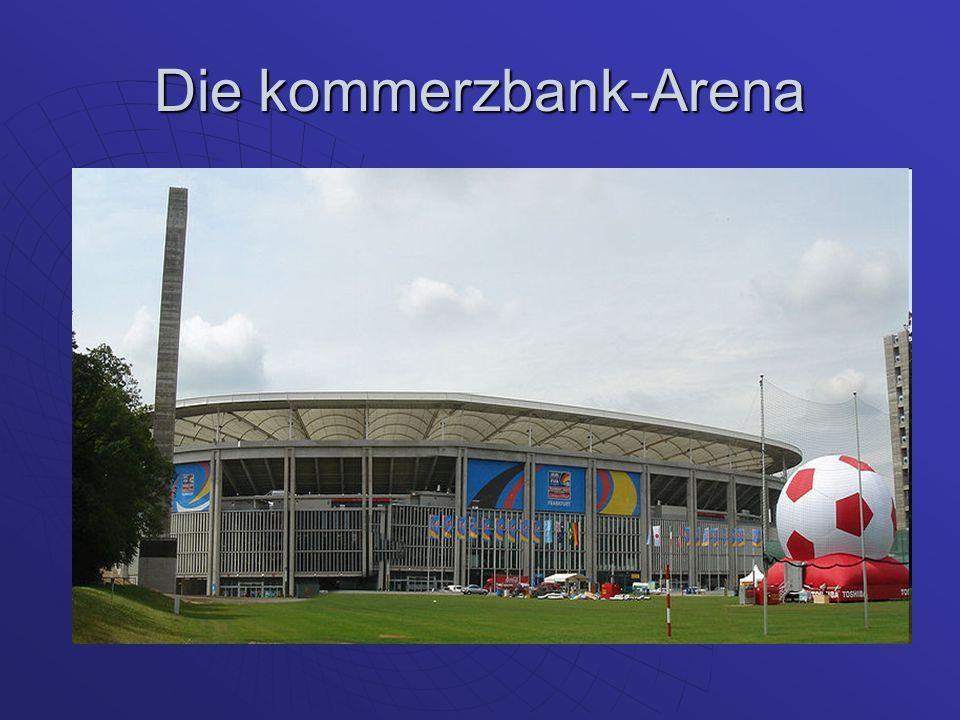 Die kommerzbank-Arena