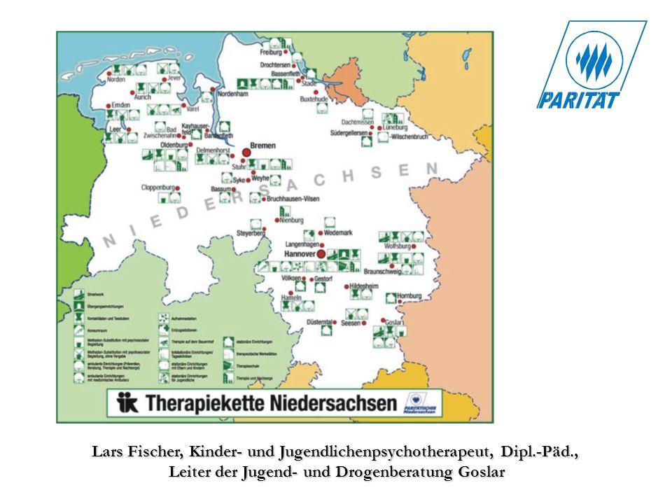 Lars Fischer, Kinder- und Jugendlichenpsychotherapeut, Dipl.-Päd., Leiter der Jugend- und Drogenberatung Goslar
