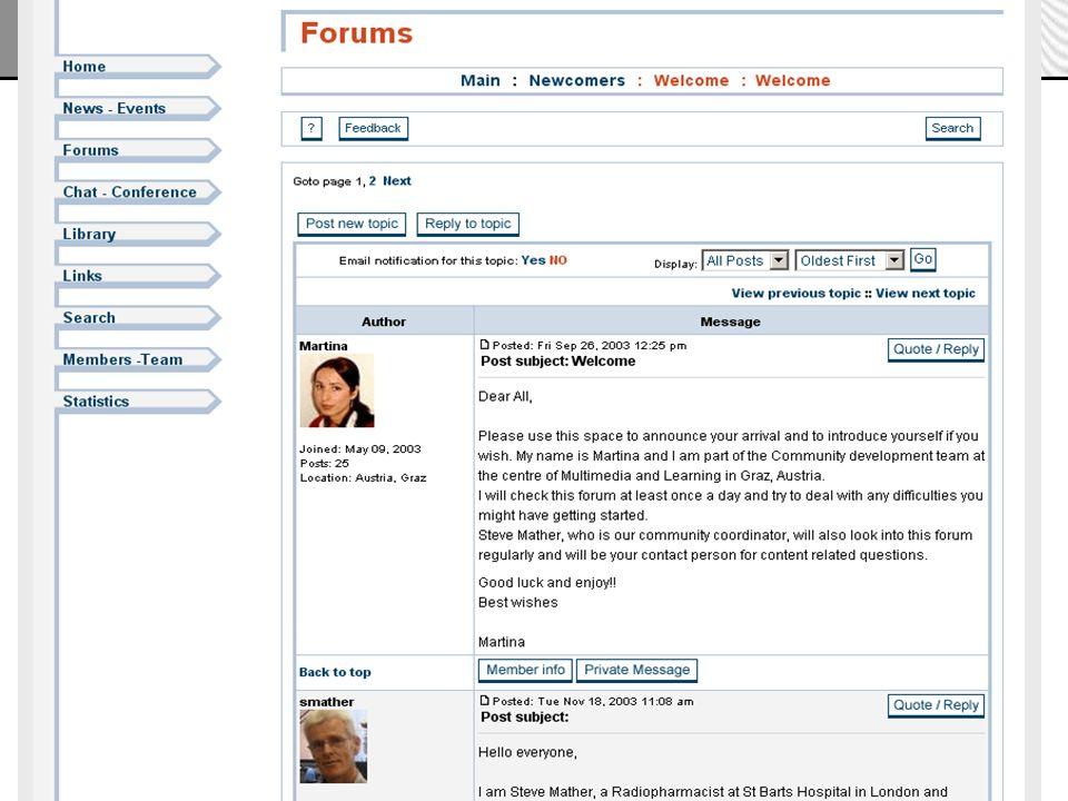 Martina Matzer, BG/BRG Knittelfeld, 19.5.2004, zml.fh-joanneum.at 9 Zentrum für Multimediales Lernen