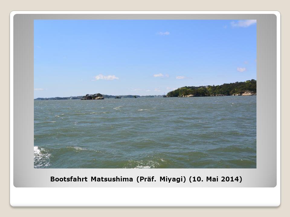 Bootsfahrt Matsushima (Präf. Miyagi) (10. Mai 2014)
