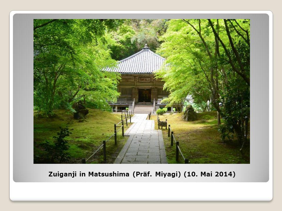 Zuiganji in Matsushima (Präf. Miyagi) (10. Mai 2014)