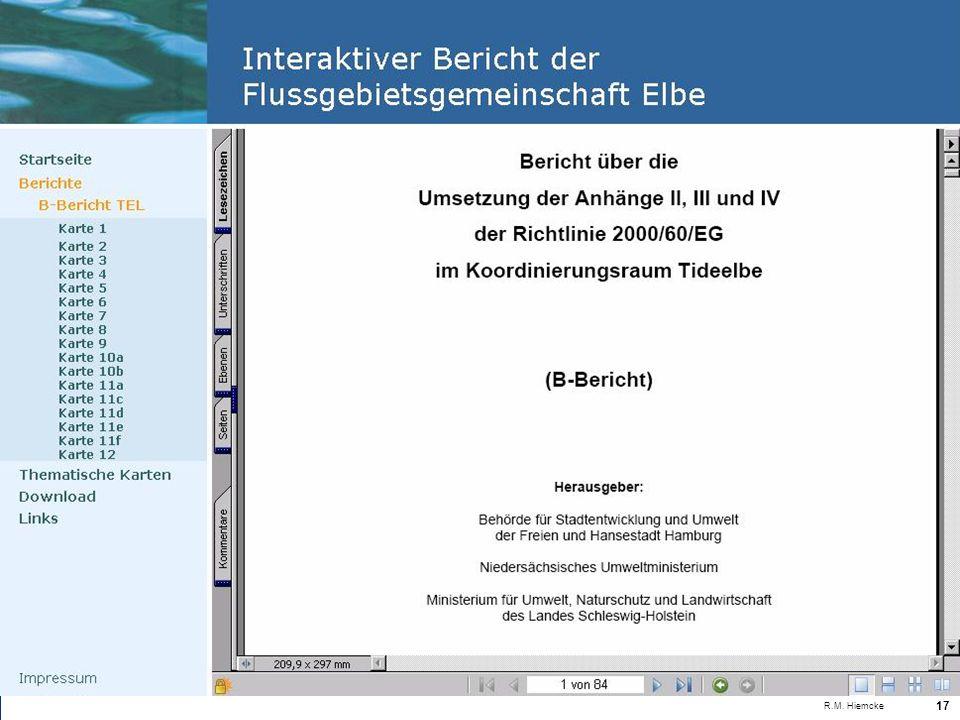 Landesamt für Natur und Umwelt des Landes Schleswig-Holstein R.M. Hiemcke 17
