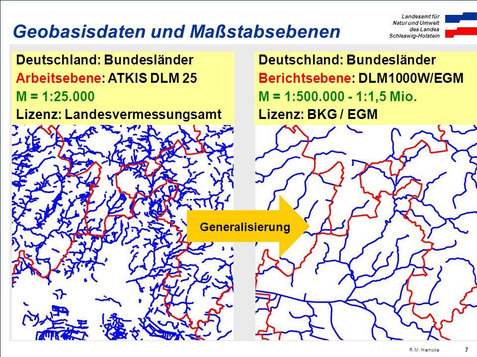 Landesamt für Natur und Umwelt des Landes Schleswig-Holstein R.M. Hiemcke 18