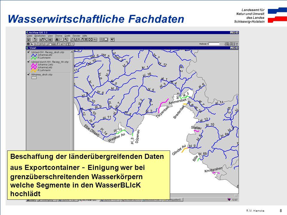Landesamt für Natur und Umwelt des Landes Schleswig-Holstein R.M. Hiemcke 19