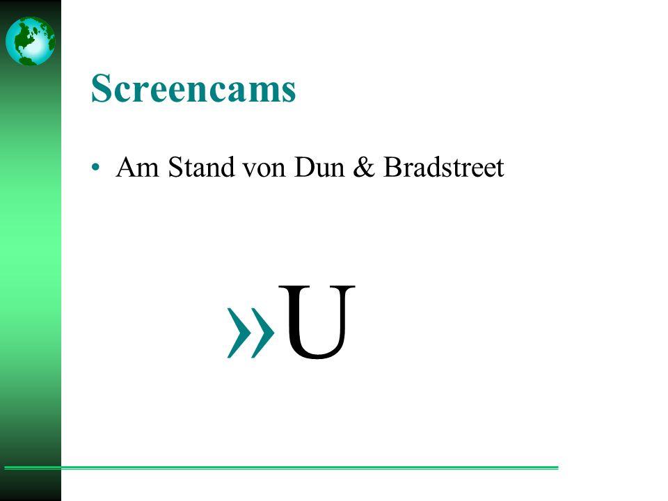 Screencams Am Stand von Dun & Bradstreet »U
