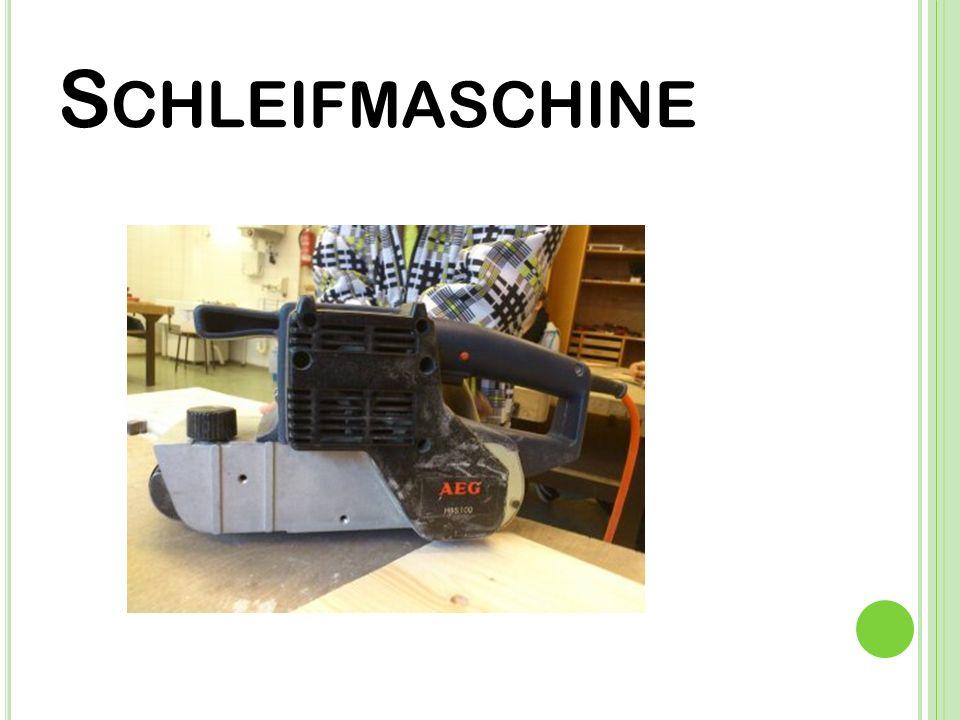 S CHLEIFMASCHINE