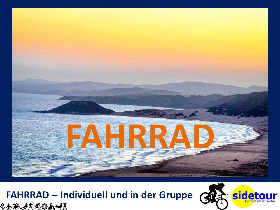 FAHRRAD – Individuell und in der Gruppe FAHRRAD