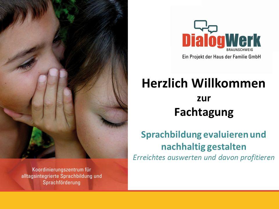 Grußworte 1.Ulla Wilharm/ Haus der Familie Braunschweig 2.