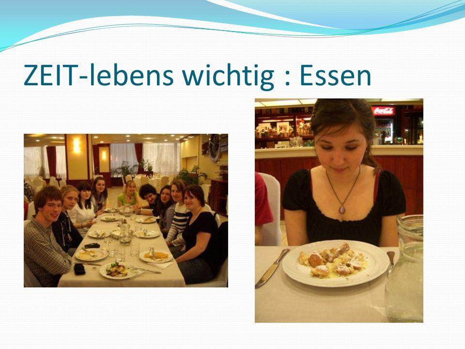 ZEIT-lebens wichtig : Essen