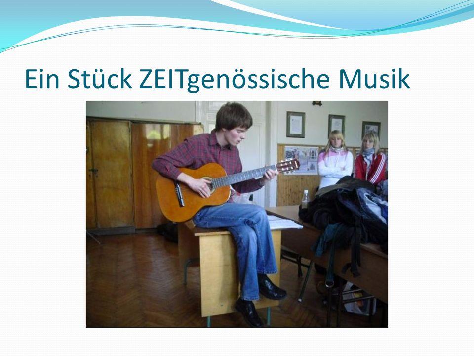 Ein Stück ZEITgenössische Musik