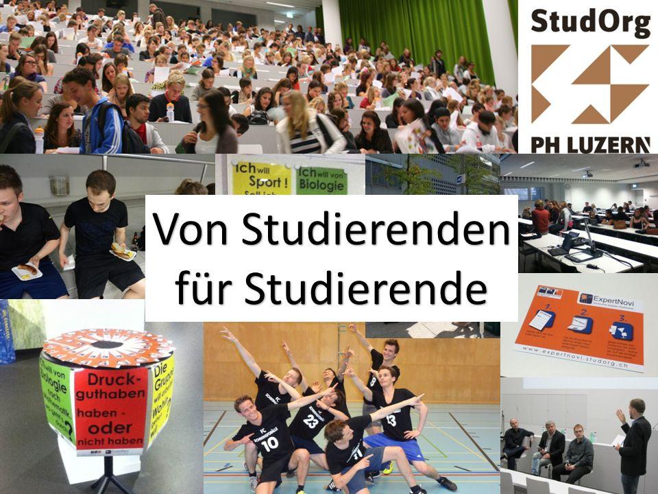 Von Studierenden für Studierende