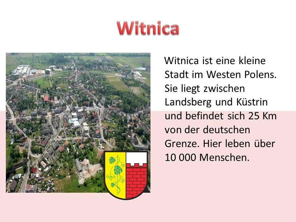 Witnica ist eine kleine Stadt im Westen Polens.