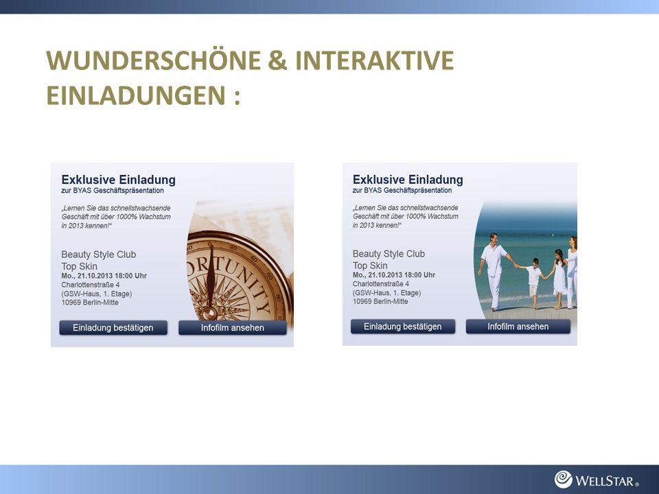 WUNDERSCHÖNE & INTERAKTIVE EINLADUNGEN :