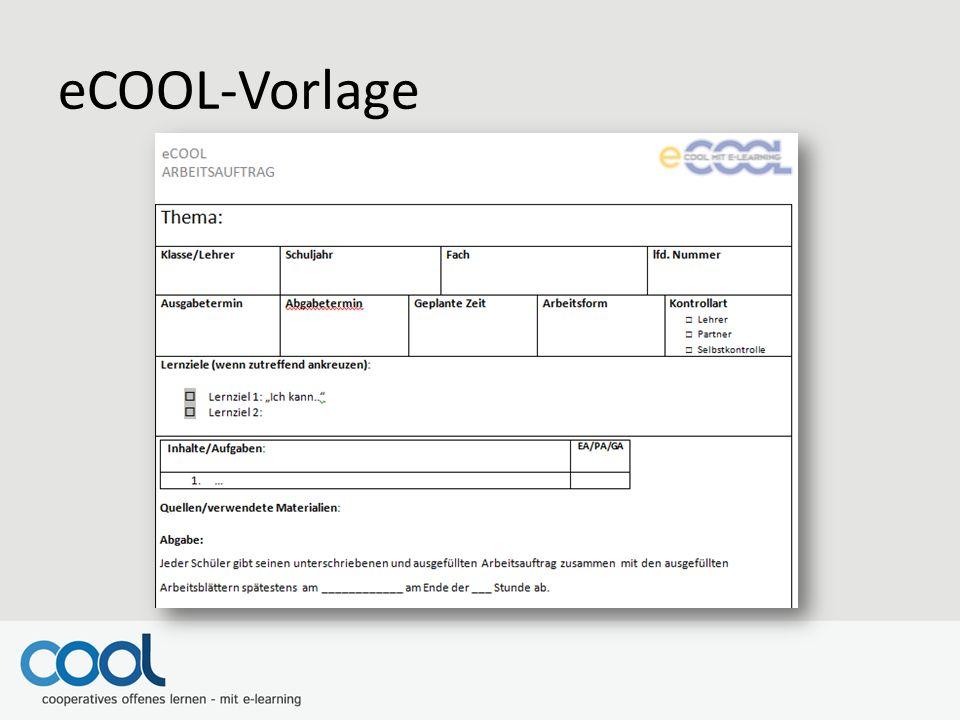 eCOOL-Vorlage